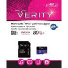 کارت حافظه میکرو اس دی Verity مدل U3 533X ظرفیت 16 گیگابایت