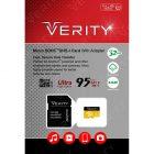 کارت حافظه میکرو اس دی Verity مدل U1 633X ظرفیت 32 گیگابایت