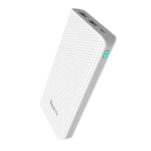 پاوربانک Verity ظرفیت 10000mAh مدل V-PR80 سفید