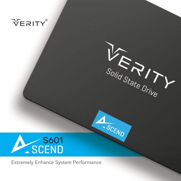 هارد اس اس دی VERITY مدل S601 ظرفیت 480 گیگابایت