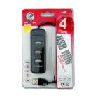 هاب 4 پورت USB 2.0 مدل H808