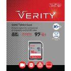 کارت حافظه SDHC وریتی 633X ظرفیت 16 گیگابایت