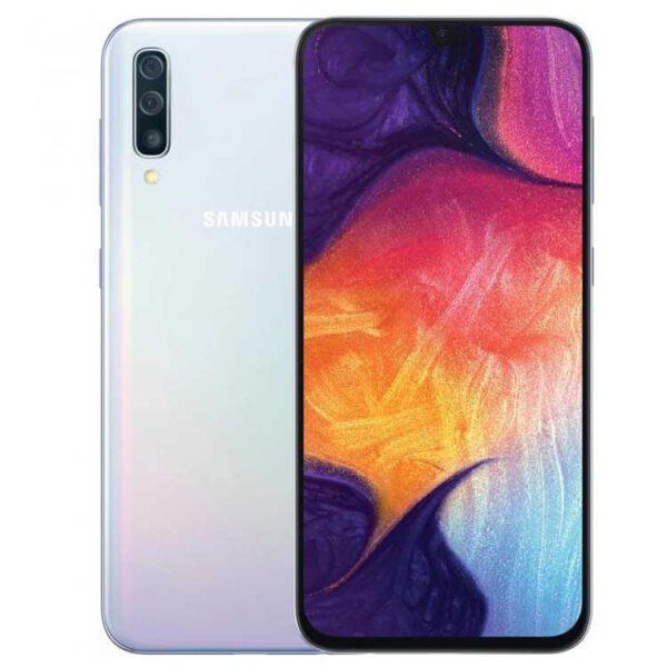 گوشی موبایل SAMSUNG مدل Galaxy A50 دو سیم کارت 128GB سفید