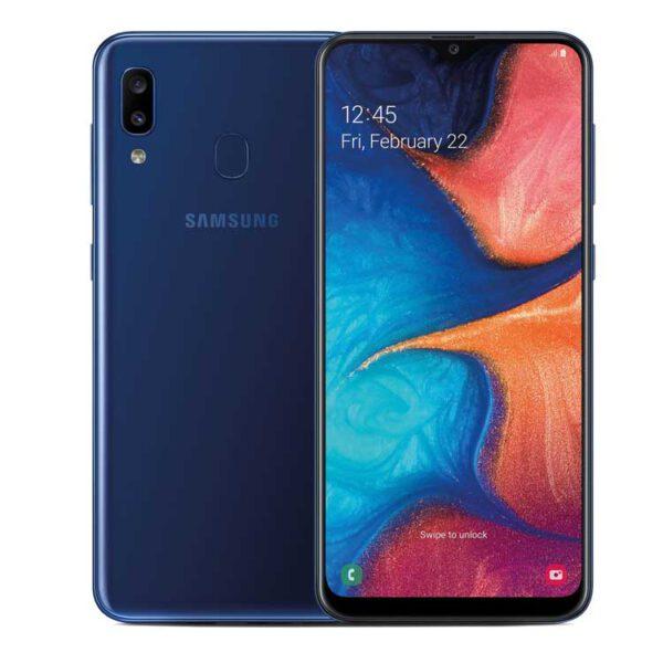 گوشی موبایل SAMSUNG مدل Galaxy A20 دو سیم کارت 32GB آبی