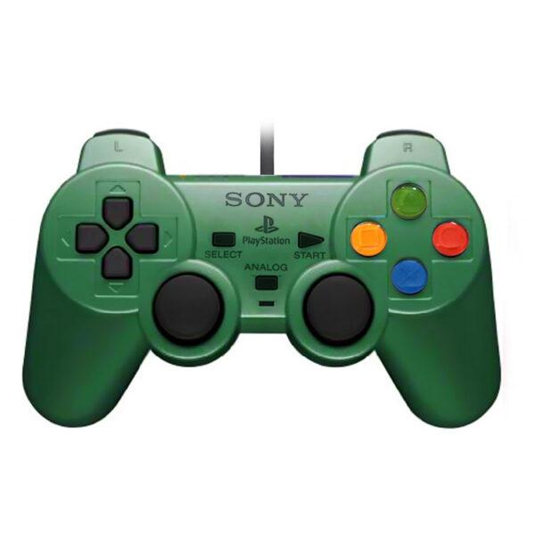 دسته بازی SONY پلی استیشن 2 سبز
