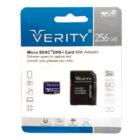 کارت حافظه میکرو اس دی Verity مدل U3 533X ظرفیت 256 گیگابایت