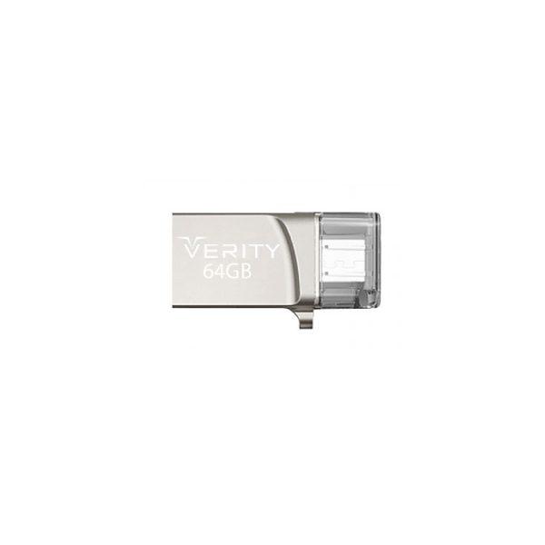 فلش درایو Verity مدل O502 ظرفیت 64 گیگابایت